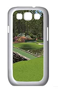 12th Augusta National Custom Hard Back Case Samsung Galaxy S3 SIII I9300 Case Cover - Polycarbonate - White