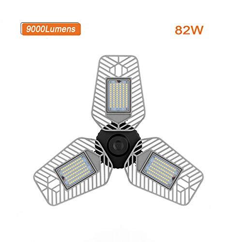 6500Lm LED Ga 60W LED Garage Trilight 5000K Day Light LED Garage Ceiling Light