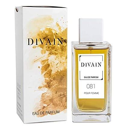 74bc41ba1 DIVAIN-081, Eau de Parfum para mujer, Vaporizador 100 ml: Amazon.es ...