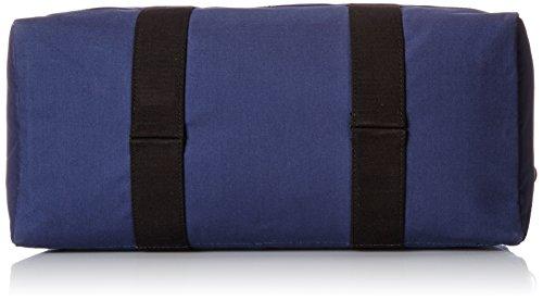 Jack Spade Men's Bonded Cotton Duffle Bag, Navy/Tank, One Size by Jack Spade (Image #4)