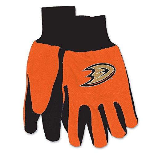 WinCraft NHL Anaheim Ducks Two-Tone Gloves, (Two Tone Duck)