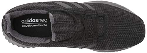 adidas Men's Cloudfoam Ultimate Running Shoe Utility Black, 9.5 M US by adidas (Image #8)