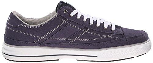 Skechers Lo Sport Mens Arcade Videochat Mf Fashion Sneaker Navy / Bianco