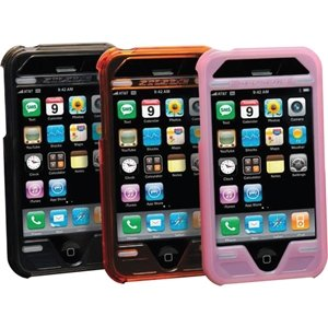 Scosche Polycarbonate Case with Screen Protector (Orange)