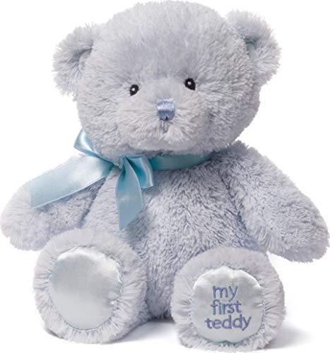 Baby GUND My First Teddy Bear Stuffed Animal Plush, Blue, 10 #34;