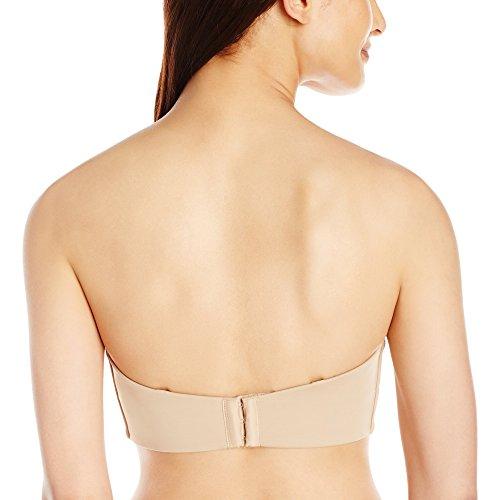 Maidenform Soutien-Gorge Bandeau Minimiseur - Sujetador para mujer Beige (Body Beige)