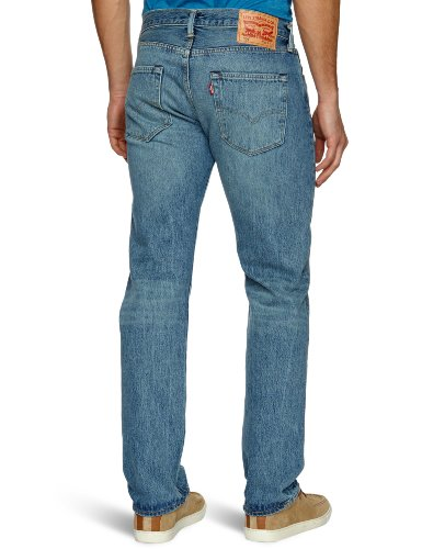 501 The Floor On 1456 Levi's Hombre Jeans Azul Original Fit para pWd8qB