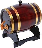 Barril de madera de roble de 5 litros Dream Wood para almacenamiento y envejecimiento de vino y bebidas