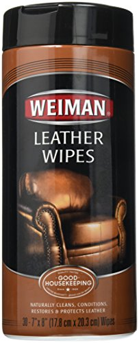 Weiman Leather Wipes - 30 ct