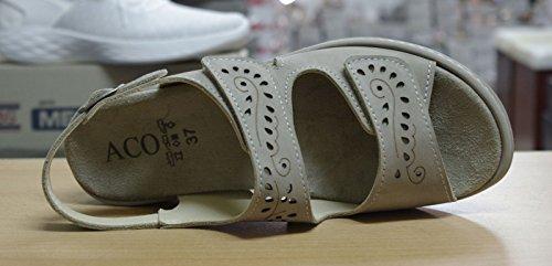Femmes 155 18C12353938 pour Sandales Beige Taupe Moni ACO OA1qw88