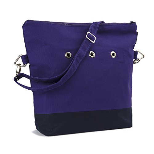 Yarn Pop Totable Knitting Bag - PURPLE+BLU by Yarn Pop