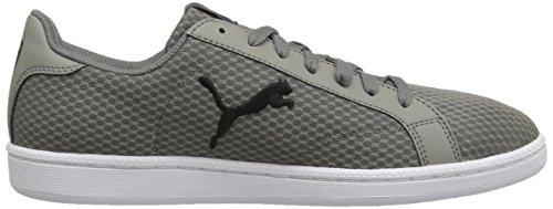 Puma Smash Cat Mesh Moda Sneaker Acciaio Grigio-puma Blac