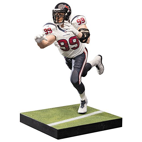 Action Football (McFarlane Toys NFL Series 36 JJ Watt Houston Texans Action Figure)
