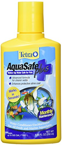 Tetra 16268 AquaSafe Water Conditioner with BioExtract, 8.45-Ounce