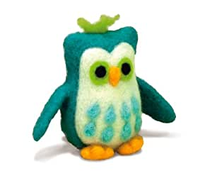 Dimensions Needlecrafts Needle Felted Character Kit, Owl
