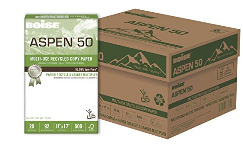 BOISE ASPEN 50% Recycled Multi-Use Copy Paper, 11