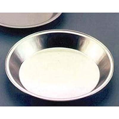 Pie Pan 9 inch Diam. Natural Aluminum Finish 1 Each