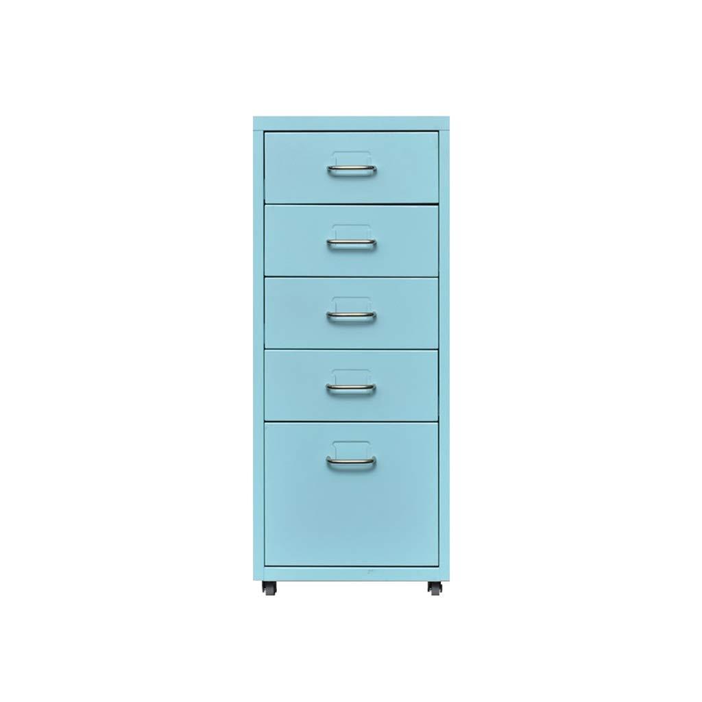 File Cabinet, Desktop Extended Drawer Office Organizer (Steel Plate) 284169CM (Color : A)