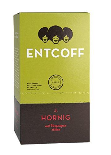 J. Hornig Entcoff - Kaffee entkoffeiniert gemahlen, 500 g, 2er Pack (2 x 500 g)