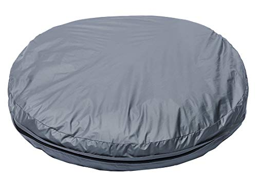 (Morezi DIY Do It Yourself Pet Pillow Cover: Water Resistant Dog Bed Liner, Washable, Waterproof Liner Internal Case in Medium or Large for Dog and Cat - Cover only - Round)