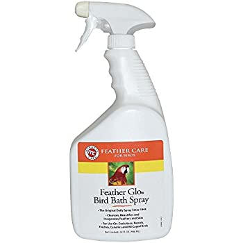 Miracle Care Feather Miracle Care Feather Glo Bird Bath Spray, 32-Ounce