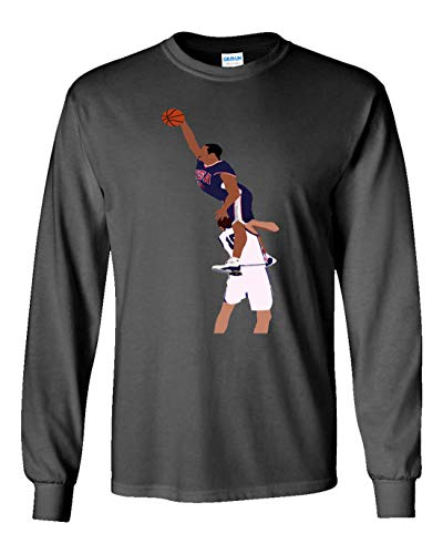 Long Sleeve Grey Olympic Carter The Dunk T-Shirt Youth ()