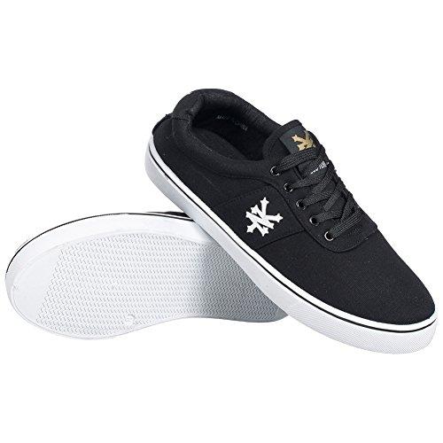 ZOO Herren YORK ZYFM003 Sneaker Schwarz BxnnWvwca