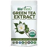 Biofinest Green Tea Extract Powder 500mg – USDA Certified Organic Pure Gluten-Free Non-GMO Kosher Vegan Friendly – Supplement for Heart Health, Healthy Metabolism (250g) Review