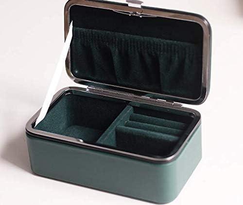 ANBING Puerta de Viaje de separación Guduo con Mini Caja de Almacenamiento de Joyas Verde Oscuro 11.5 * 6.7 * 4cm: Amazon.es: Hogar