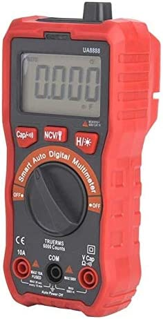 DXX-HR Digital UA8888 Red Backlight Display Automatic Digital Multimeter DC/AC Voltage Current Meter Precise