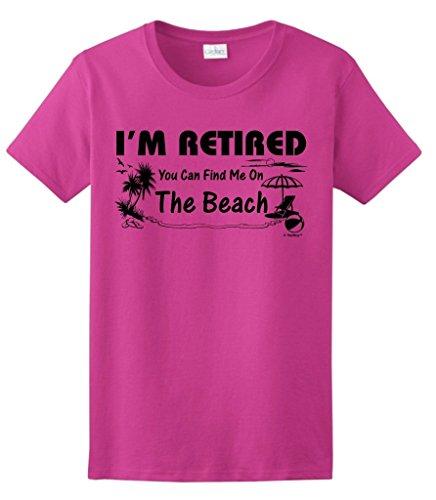 Retirement Retired Beach Ladies T Shirt