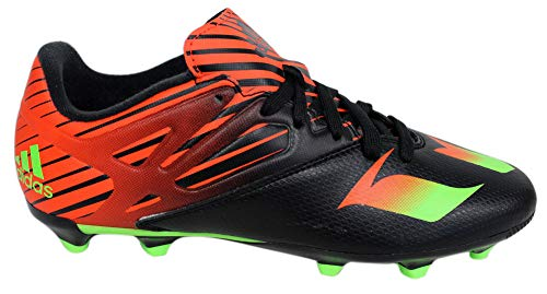 - adidas Performance Messi 15.3 J Soccer Cleat (Little Kid/Big Kid), Black/Green/Solar Red, 11.5 M US Little Kid