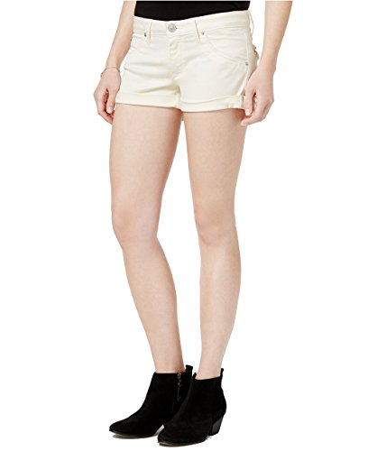 Hudson Jeans Women's Hampton Cuffed Banana Wash Denim Shorts (Banana Wash, 29)