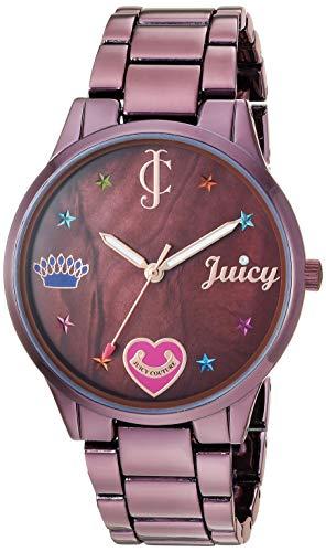 Juicy Couture Black Label Women's  Swarovski Crystal Accented Brown Bracelet Watch