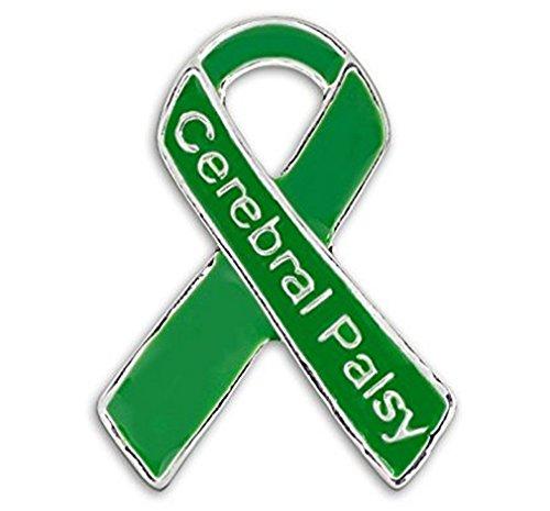 (Cerebral Palsy Awareness Green Ribbon)