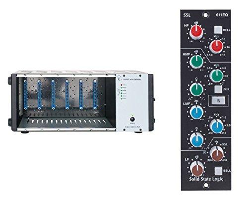 Rupert Neve Designs R6 500 Series Rack Chassis + SSL 611EQ Equalizer Module -