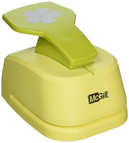 Punch Blossom - McGill Perfect Petals Stacking Lever Punch, Floriano 2.125-Inch