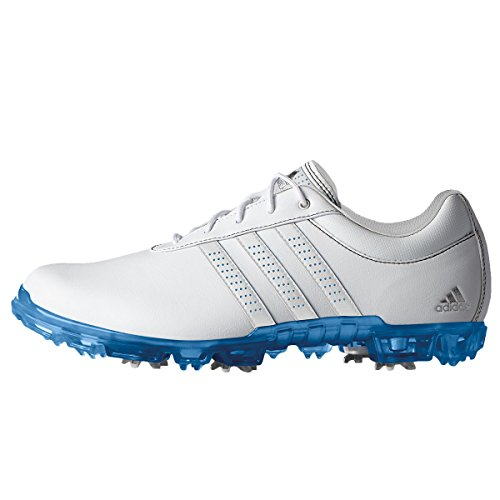 Adidas 2017 Adipure Flex Mens Spikes Waterproof Leather Golf Shoes – Wide Fitting