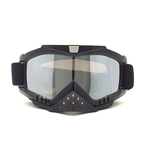 Transparent lens HCMAX Motorcycle Goggles Motocross Glasses Harley Helmet Fog-proof Windproof Riding Bike UV Protection Snowmobile Sunglasses Mask Valentines Day Gift
