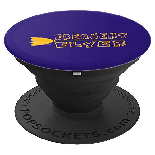 Boo Flyers Halloween (Witches Halloween Costume Frequent Flyer Witch Boo Night PopSockets Grip and Stand for Phones and)