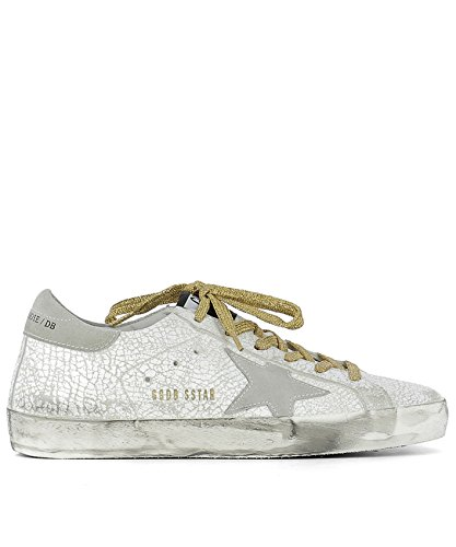 Golden Goose Sneakers Donna G30WS590C14 Pelle Bianco