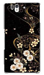 Xperia Z Case TL-Star Original Designed:Lacquer flow ; with/Protective Film