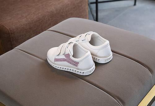 Amazon.com: Kasien Baby Shoes, Children Baby Girls Boys Bling Led Light Luminous Running Sport Sneaker Shoes Coffee: Clothing
