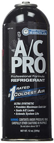 Interdynamics A/C Pro ACP-102 Ultra Synthetic A/C Recharge R-134a (12 Ounces)