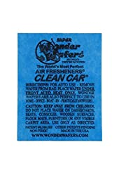 Wonder Wafers Air Fresheners 100ct. Individually Wrapped, Clean Car Fragrance