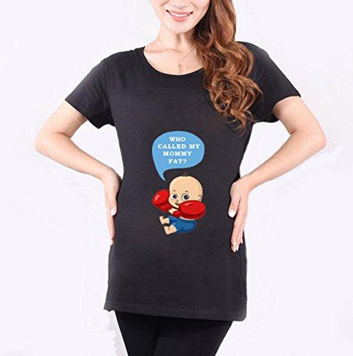 Yanyan - Camiseta - para mujer negro