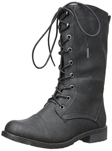 Lug 11 Womens Military Lace up Combat Boot - stylishcombatboots.com