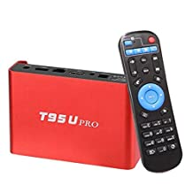 T95U PRO Cortex-A53 3GB/32GB Dual Band WiFi H.265 UHD 4K Player Gigabit 1000M LAN Android 7.1 Octa Core Smart TV Box Amlogic S912