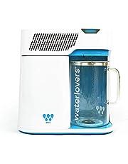 Waterlovers MKII waterdestilleerapparaat met smart-technologie, roestvrijstalen koker en 2,8 l glazen kan