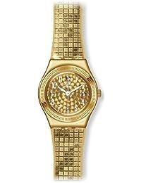 Swatch Women's Dance Floor YSG135 Stainless Steel Wrist Watches